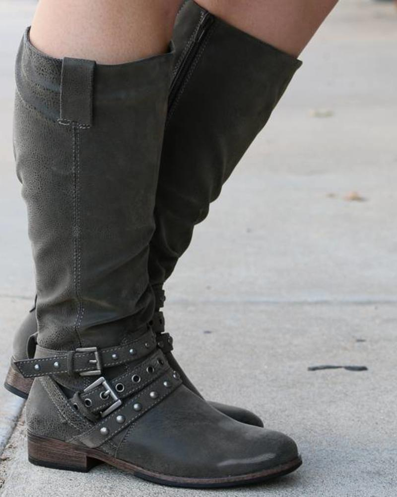 """""""Boundless"""" Pewter Boot -"""