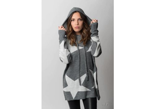Nouveau Noir All The Stars Sweater Hoodie