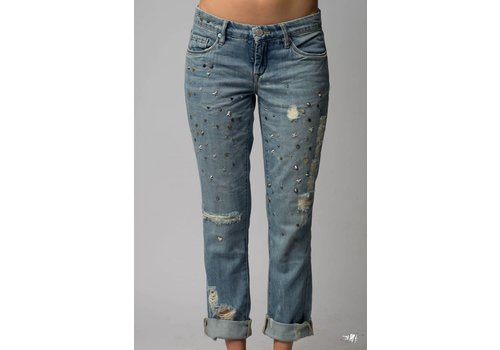 Blank NYC Return To Sender Distressed Jean