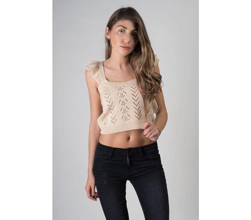 La Palma Knit Crop Top