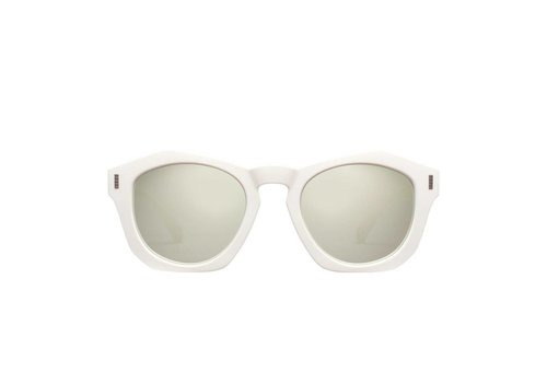 Perverse Sunglasses Josh Sunglasses in Dune White/Clear