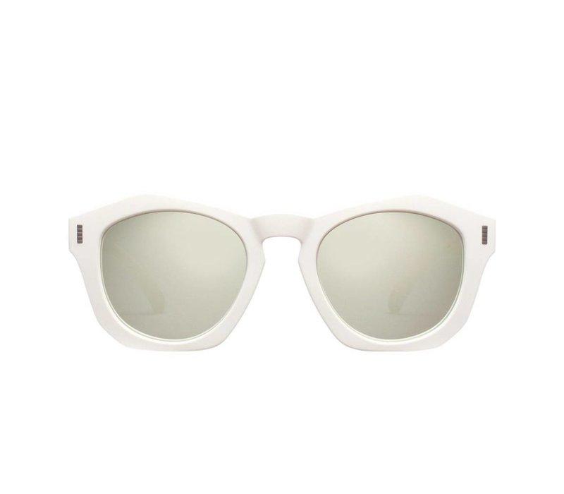 Josh Sunglasses in Dune White/Clear