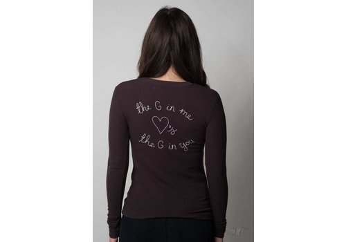 Spiritual Gangster Heart Patch Long Sleeve
