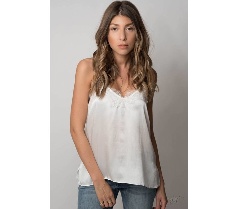 The Racer Charmeuse Cami