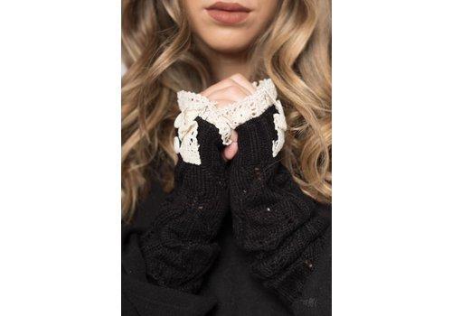 Nouveau Noir Gigi Arm Warmer Black