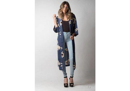 Nouveau Noir Madison Kimono