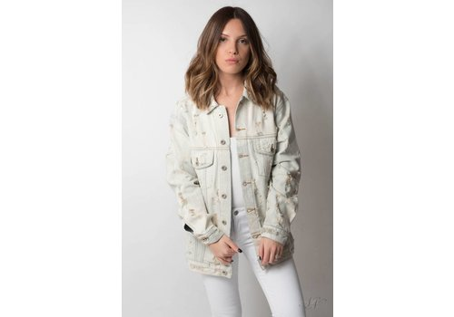 Nouveau Noir Risky Business Denim Jacket