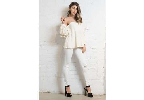 Evidnt Connie Off The Shoulder Top