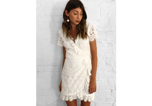 Nouveau Noir Paros Dress Off White