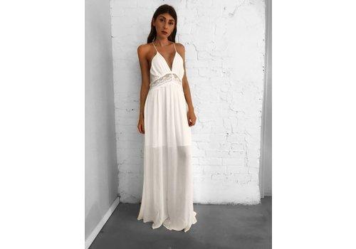 Nouveau Noir Ios Dress Off White