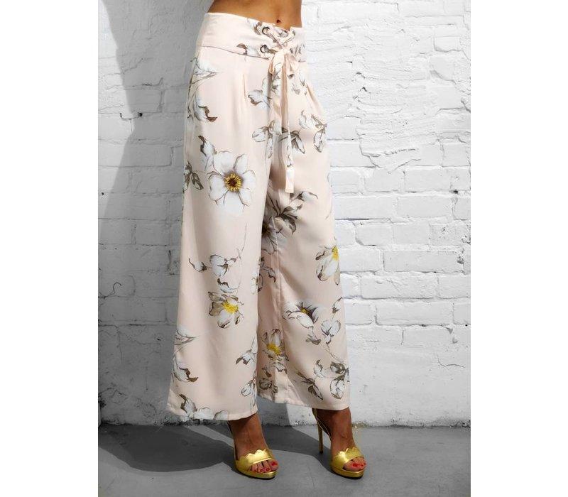 Blossom Tie Corset Pants
