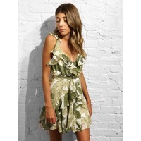 Calabria Palm Dress