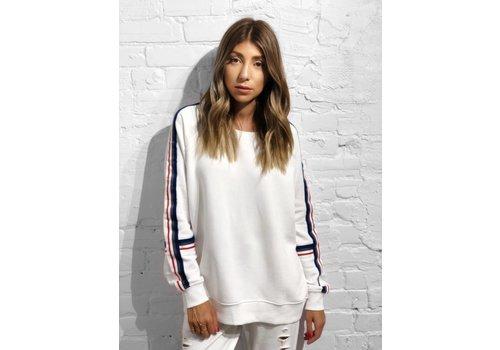 Nouveau Noir Whitney Sweater Bright White