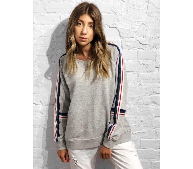 Whitney Sweater Light Grey Melange