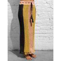 Porto Crochet Skirt Multi