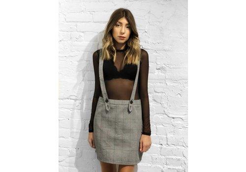 Nouveau Noir Dionne Plaid Skirt