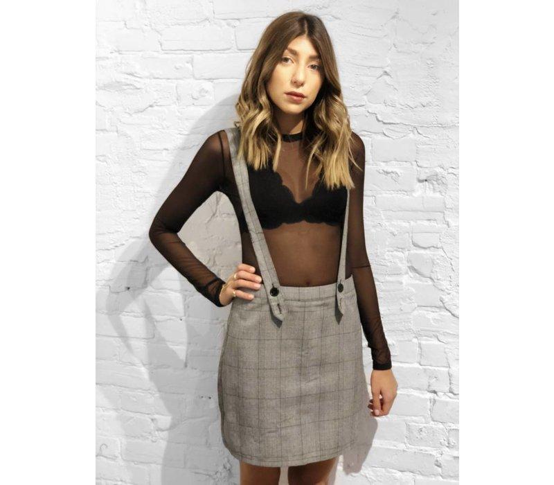 Dionne Plaid Skirt