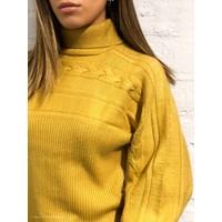 Milo Turtleneck Cable Knit Sweater