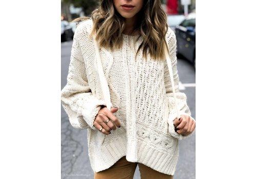 Elan Darleen Sweater Oatmeal