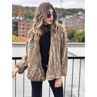Courcheval Fur Jacket Natural **FINAL SALE**