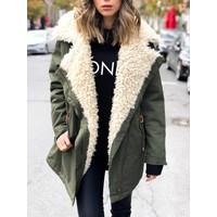 Oda Oversized Fur Parka