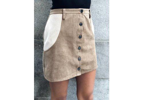 Nouveau Noir Pocahontas Skirt