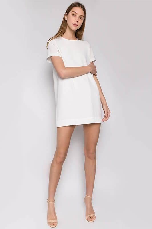 S/S Woven Shift Dress