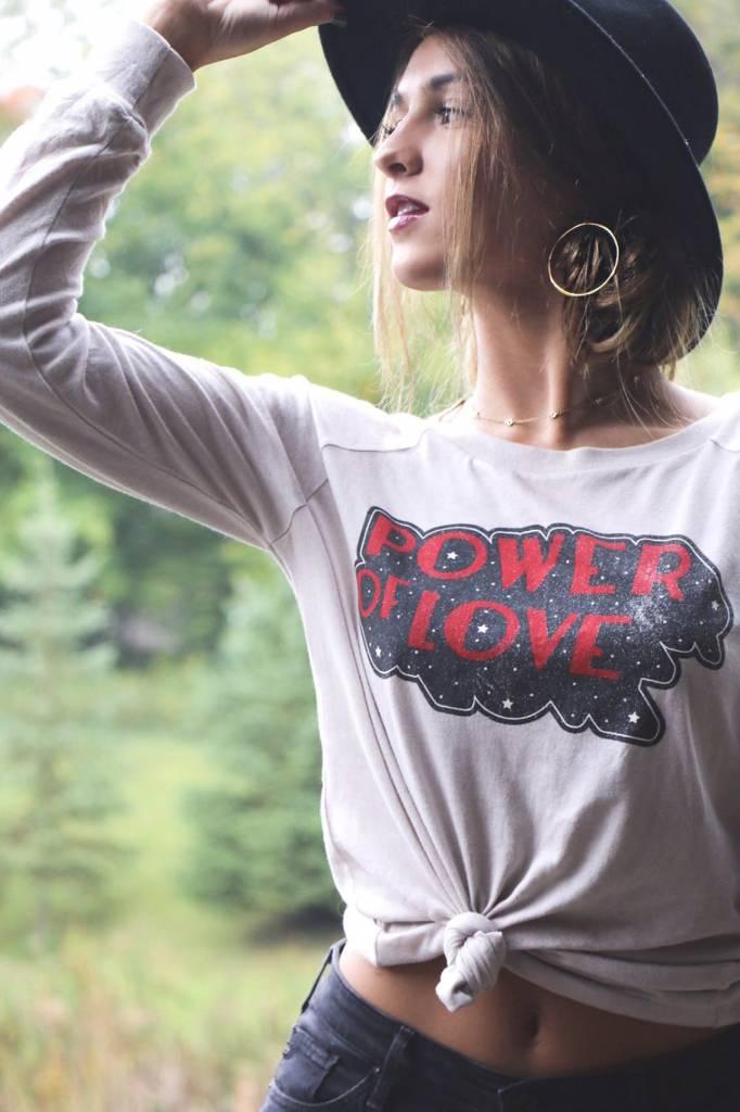 POWER OF LOVE MONICA TEE