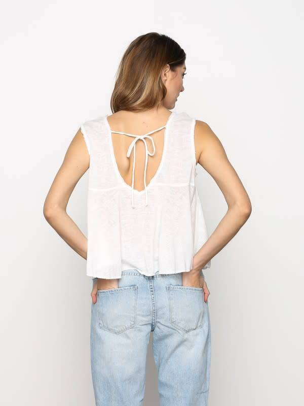 Marled Jersey Loose Fit Tank