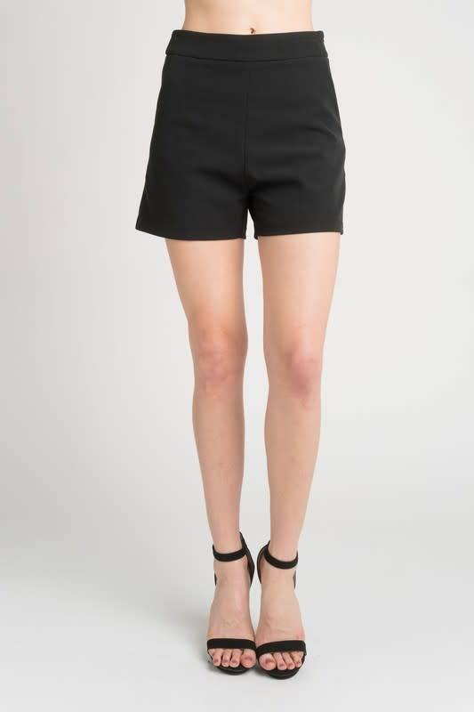 Hi Waist Woven Shorts