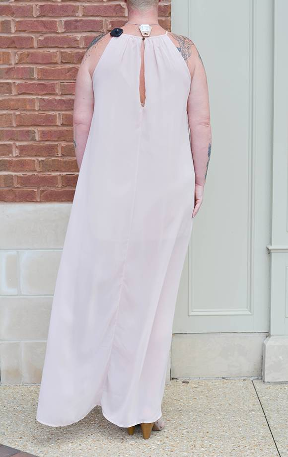Primrose S/L Colorblock Maxi Dress