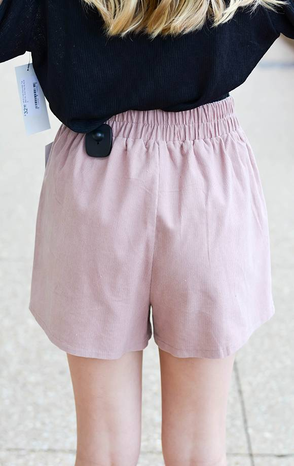 Zoe Corduroy Shorts