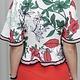 Carlee Floral Prt Jacket W/Front Tie