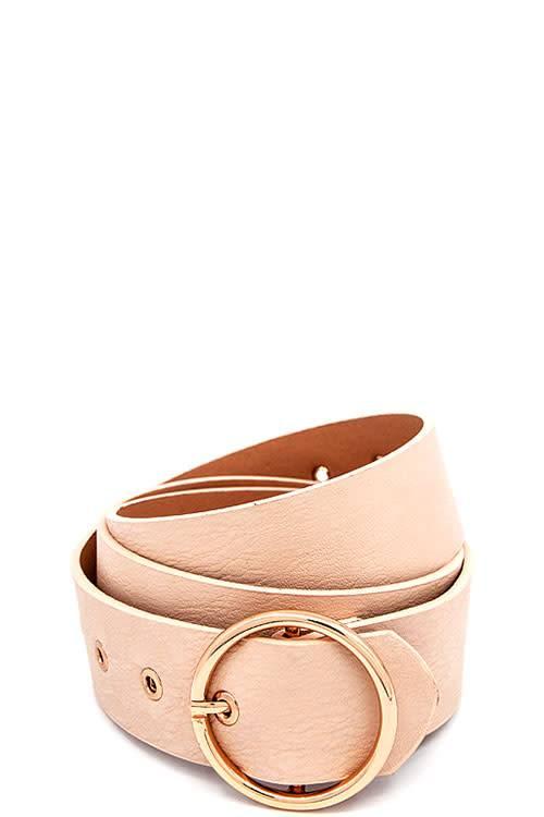 O-Ring Buckle Belt