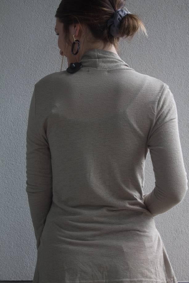 Khloe Burnout Knit Tie Waist Cardigan