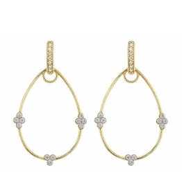 Jude Frances Simple Provence Pear Earring Charm