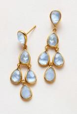 Julie Vos Clara Gold Earring