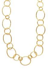 Julie Vos Colette Link Gold Necklace