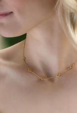 Julie Vos Florentine Demi-Delicate Gold Necklace