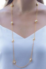 Julie Vos Loire Station Gold Necklace