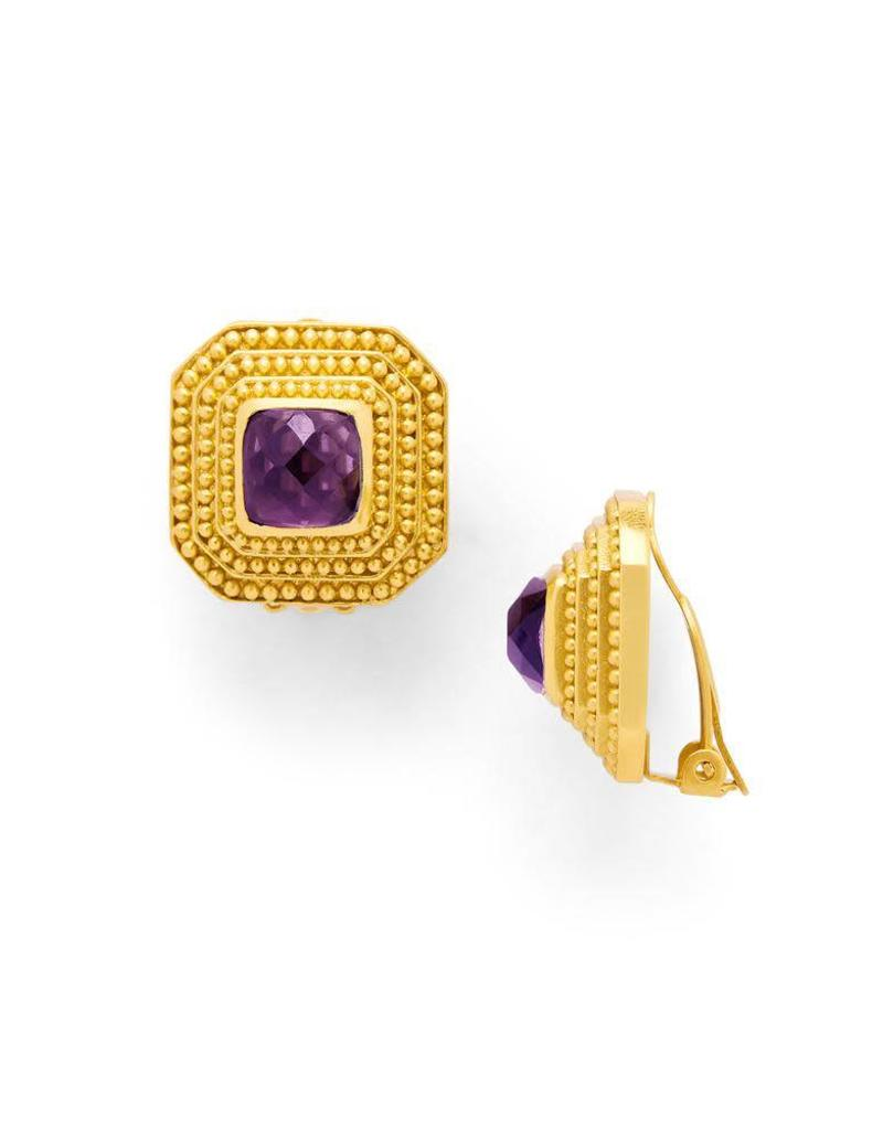 Julie Vos Luxor Clip-On Gold