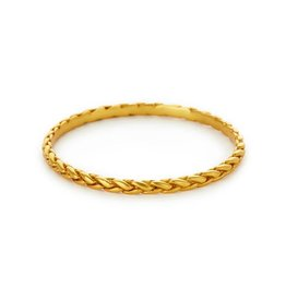 Julie Vos Monterey Gold Bangle