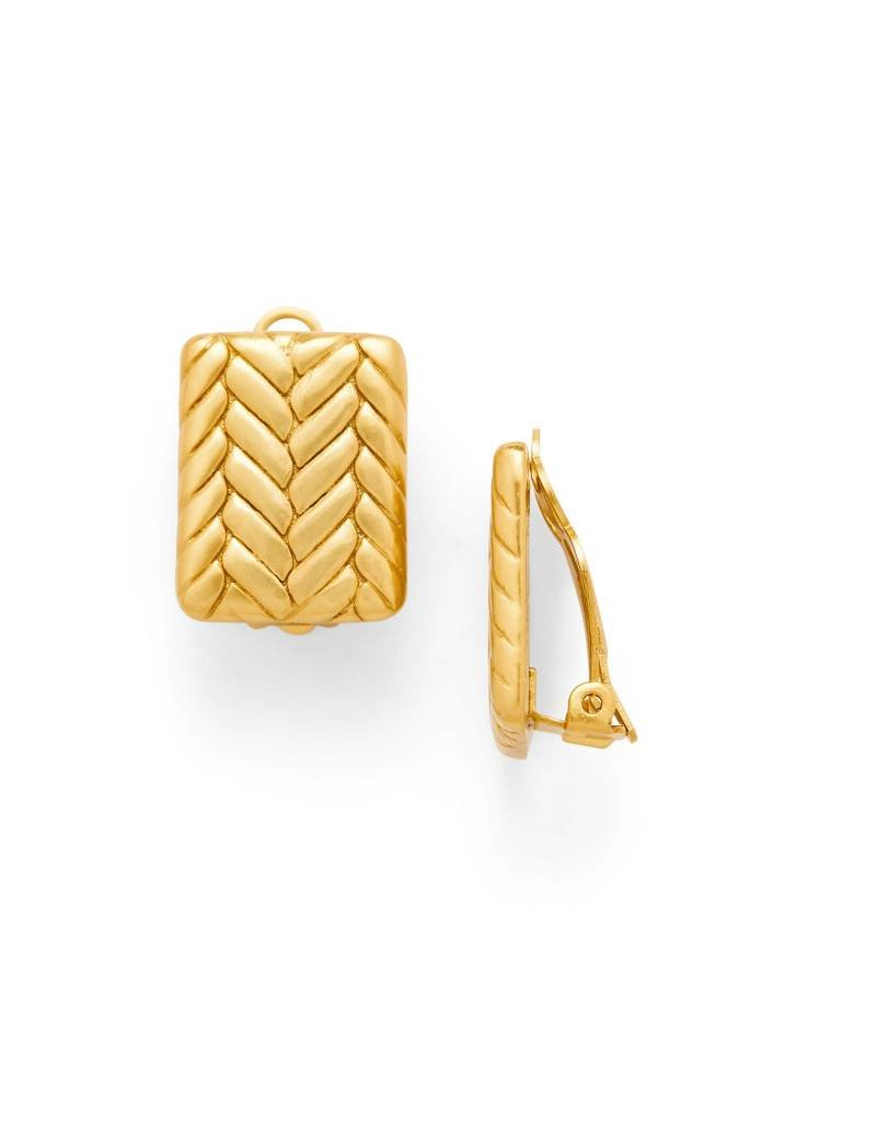 Julie Vos Monterey Gold Clip-On