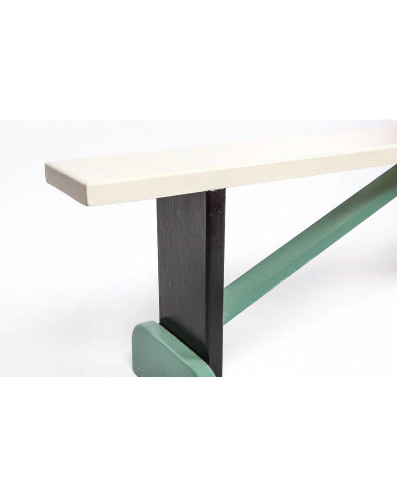 Eskell Eskell White Multi-Color Bench