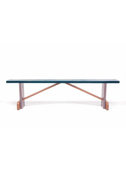 Eskell Eskell Navy Multi-Color Bench
