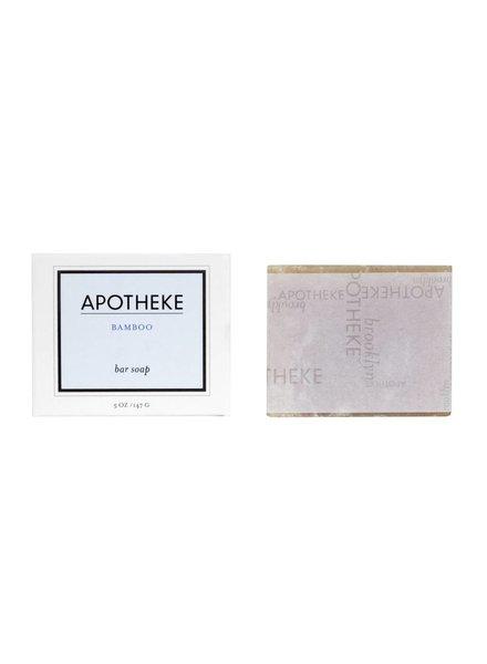 Apotheke Apotheke Bar Soap- Bamboo