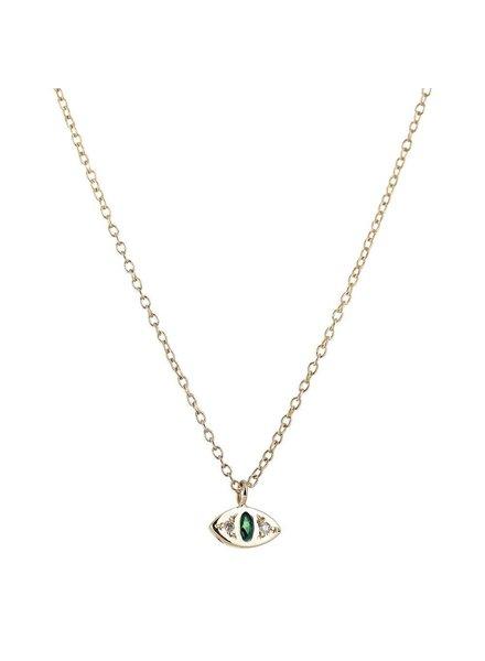Scosha Scosha- Cat Eye Necklace