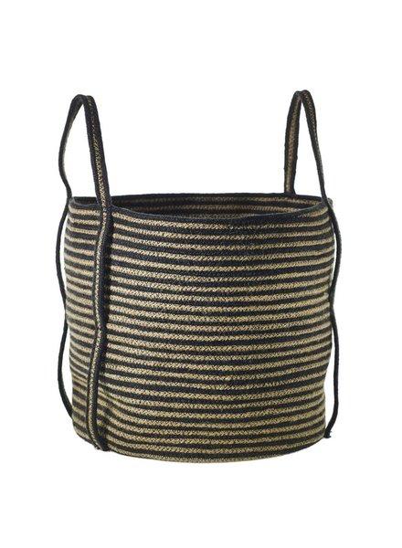 Accent Decor Striped Banger Basket