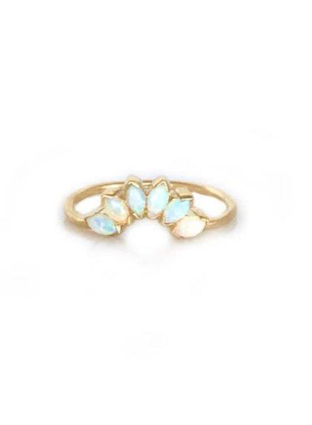 La Kaiser La Kaiser Caribbean Opal Ring-6.5