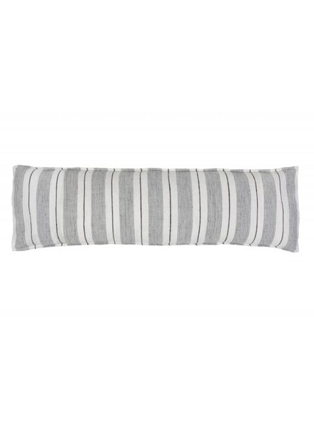Pom Pom at Home Body Pillow- Grey Charcoal